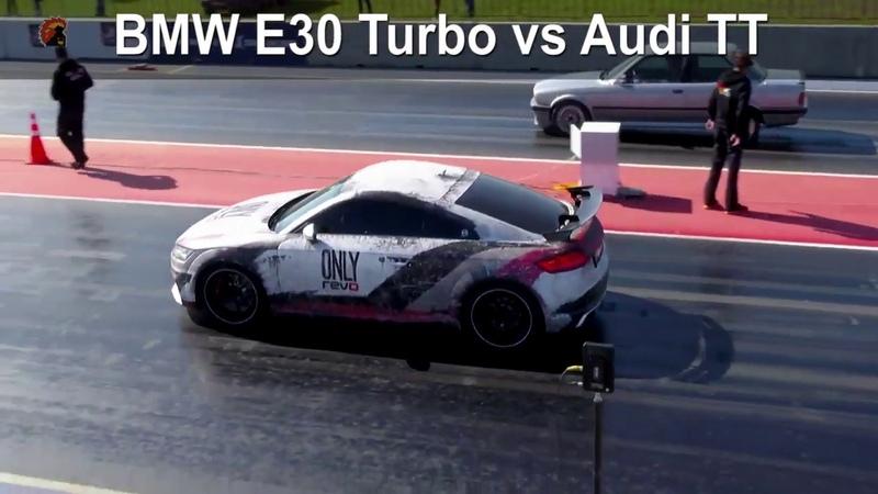 BMW E30 Turbo vs Audi TT