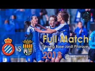 RCD Espanyol vs Alboraya UD Torneig Base Jordi Pitarque 2018