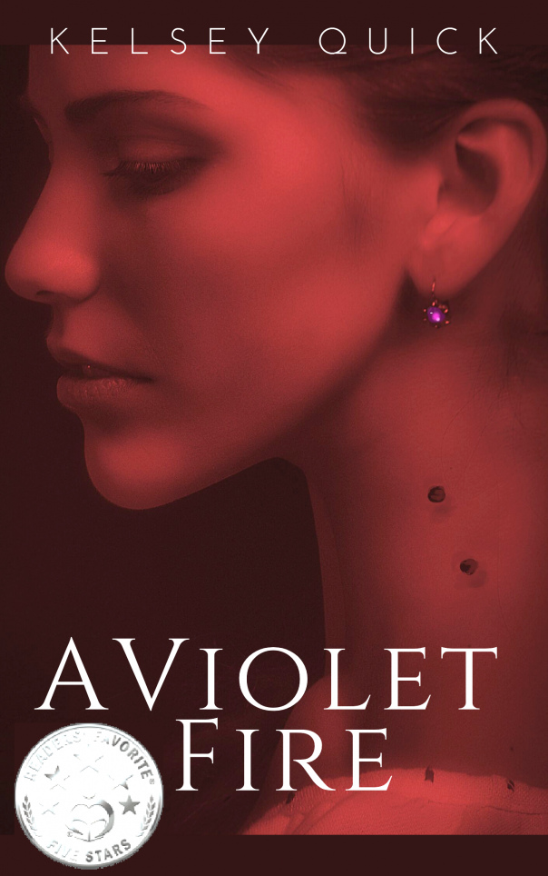 Kelsey Quick - [Vampires in Avignon 01] - A Violet Fire (epub)