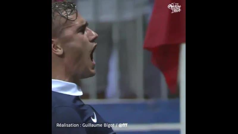 Le tout premier but d'Antoine Griezmann avec les Bleus