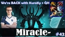 Miracle - Terrorblade Safelane | We're BACK with KuroKy GH | Dota 2 Pro MMR Gameplay 42