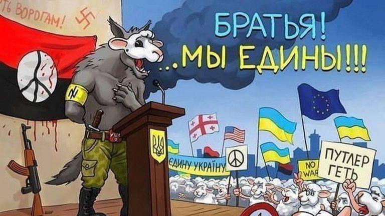 Украинские националисты не считают президента Украины Владимира Зеленского человеком
