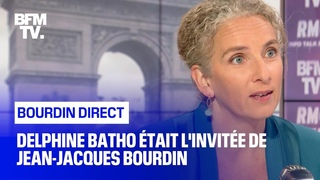 Delphine Batho face à Jean-Jacques Bourdin en direct