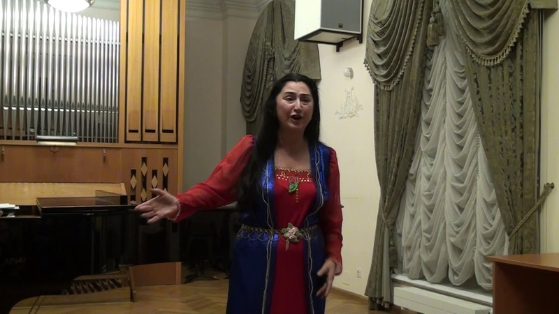 Komitas Gutanerg «Plow song» Marlena Mosh, (song is performed on Karabakh dialect)