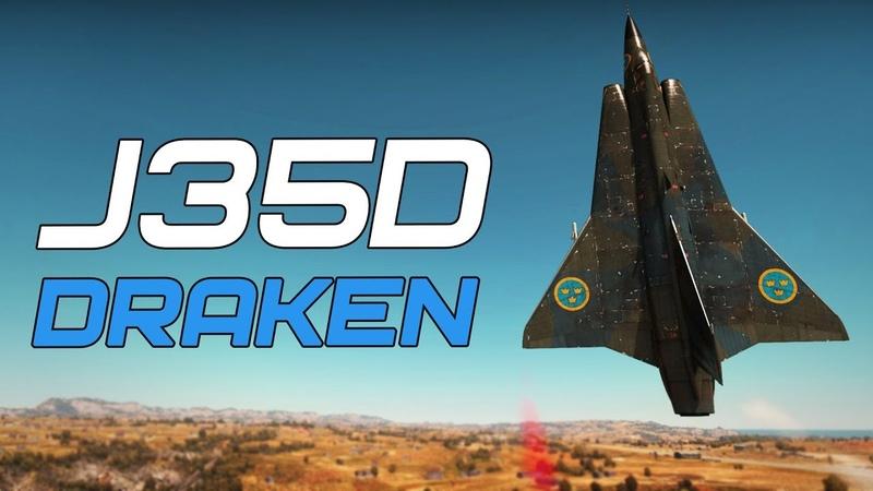 J35D Draken - ПРОКЛЯТЬЕ ВИКИНГОВ в War Thunder
