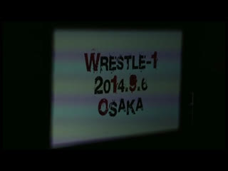 WRESTLE-1 Tour 2014 1st Anniversary- Tag 1