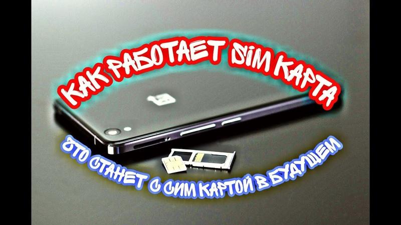 Что такое SIM карта и как она РАБОТАЕТ Будущее симкарт Как устроена sim карта