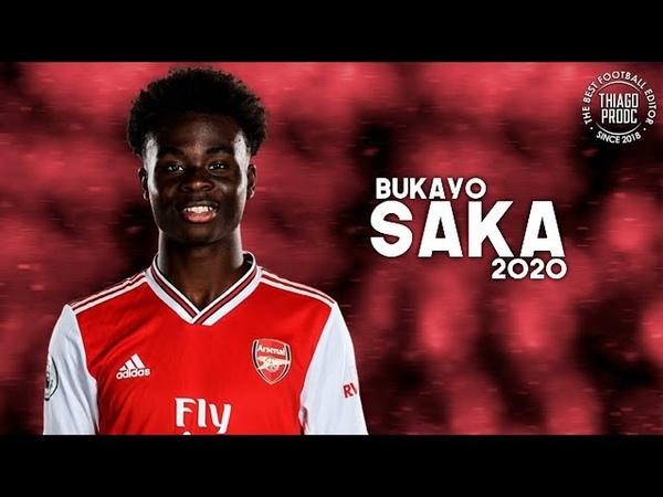 Bukayo Saka ► Best Skills, Goals Assists | 201920 HD