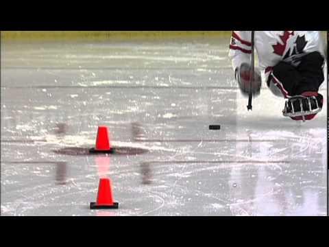 Sledge Hockey Skills Puck Handling While Turning