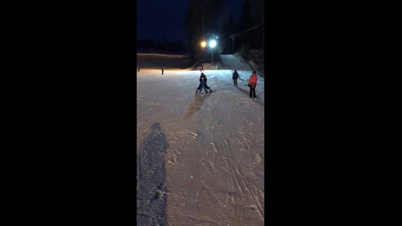 Внук Дмитрий 5лет ! Встал на лыжи