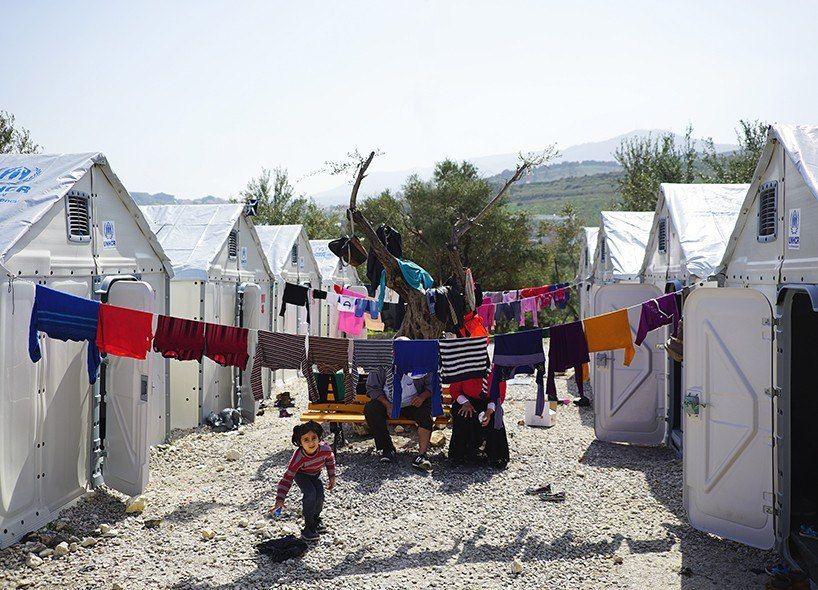 Временный приют для беженцев от ИКЕА