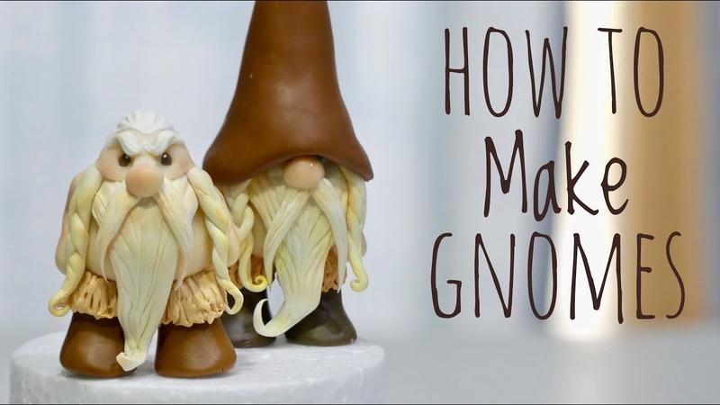 GNOME   CLAY MODELING TUTORIAL   Patricia Santoro   矮人造型黏土捏塑