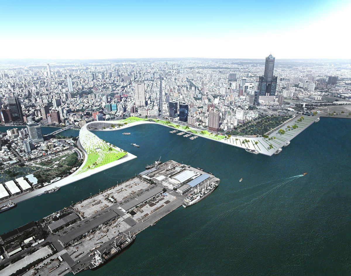 Kaohsiung Maritime and Culture Center Proposal by JAJA Architects