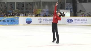 박성훈 Sunghoon PARK SP @ ISU CS Asian Open Figure Skating Trophy 2018  []