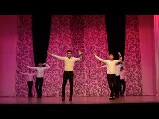 Таджикский танец от студентов КемГУ 2019