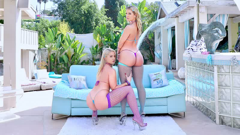 Lisey Sweet and Candice Dare Are Bubble Butt Bombshells All Sex Anal Oil Gonzo Big Ass