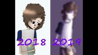 [Speedpaint]   Знакомьтесь, Боб   Фан-Боб   Редрав приветствия   2018 vs 2019