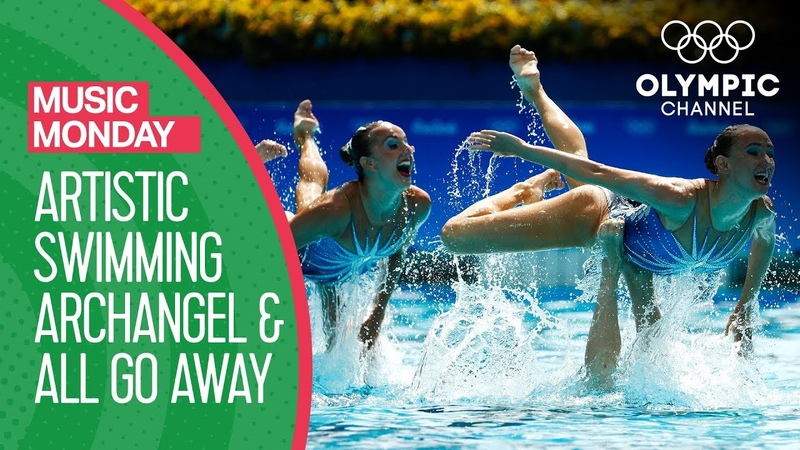 Russian Artistic Swimming perform to Archangel All Go Away Rio 2016 Music Monday