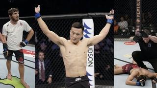 Нокауты и поражение Саида Нурмагомедова на UFC FN 165, Корейский Зомби бросил вызов чемпиону UFC