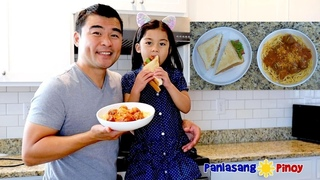 Spaghetti and Meatballs and Chicken Bacon Explosion (Cooking with Kids featuring Danielle)
