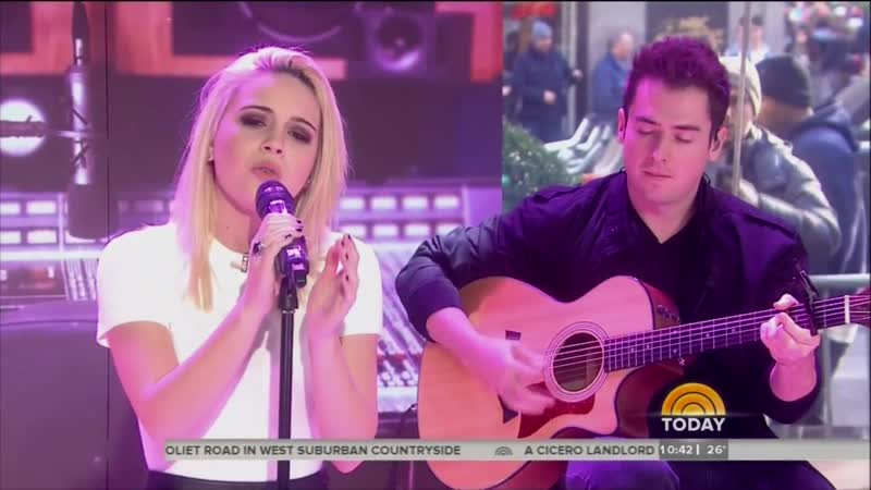 Bea Miller – «Young Blood» – (Live on Today Show * 17/12/2014)