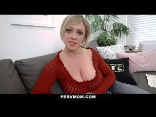 PervMom - Thick Ass Stepmom Gets Titty Fucked By Stepson