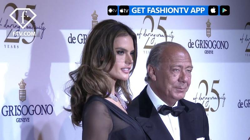 Alessandra Ambrosio Stuns at De Grisogono Party at Cannes Film Festival 2018 | FashionTV | FTV