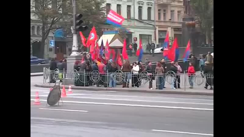Киев. Протесты против марша УПА. 14.10.2006.