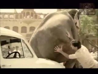 Смешная реклама Peugeot  Однажды в Индии