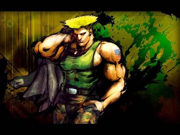 Street fighter guile theme song heavy version