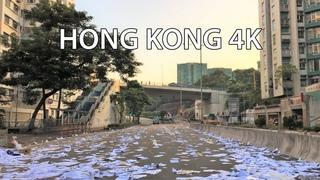 Hong Kong 4K - Morning Drive - Protests Aftermath