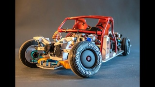 Super scale active suspension, arduino powered, 3D printed, RC drift, Oldsmobile Dynamic 88 SHORT