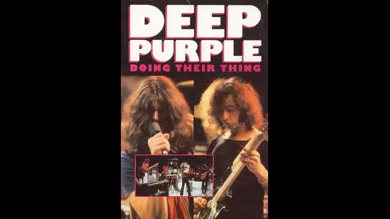 Deep Purple Doing Their Thing 1970