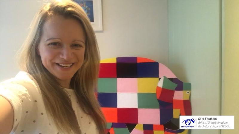 Teacher Sara Fordham @ Learning English for Kids