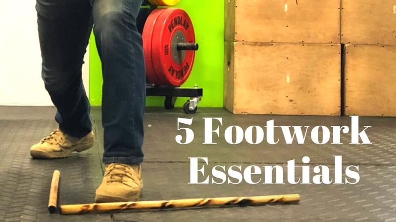 5 Footwork Essentials for Kali AKA Filipino Martial Arts