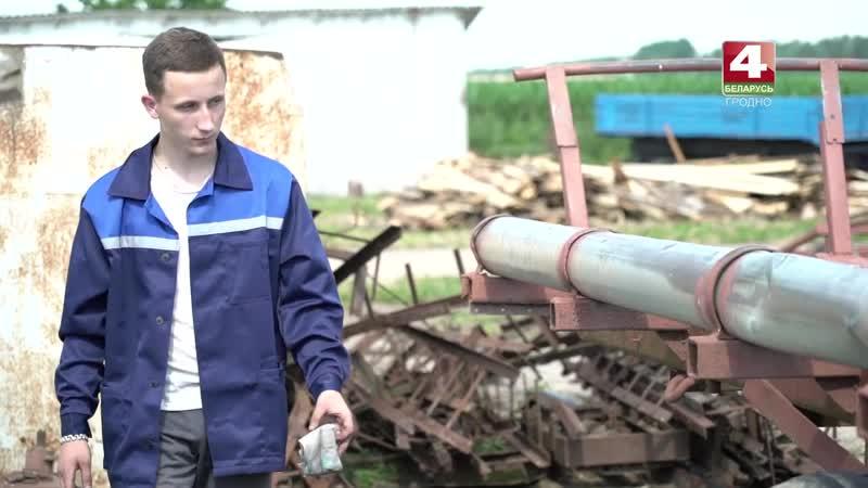 Студенческий сельскохозяйственный отряд Механизатор. 06.08.2020