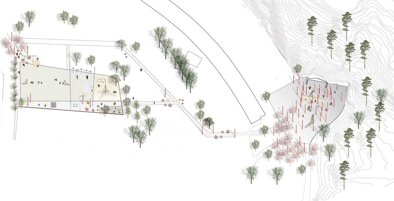 Masmo Solhagaparkenby by LAND arkitektur