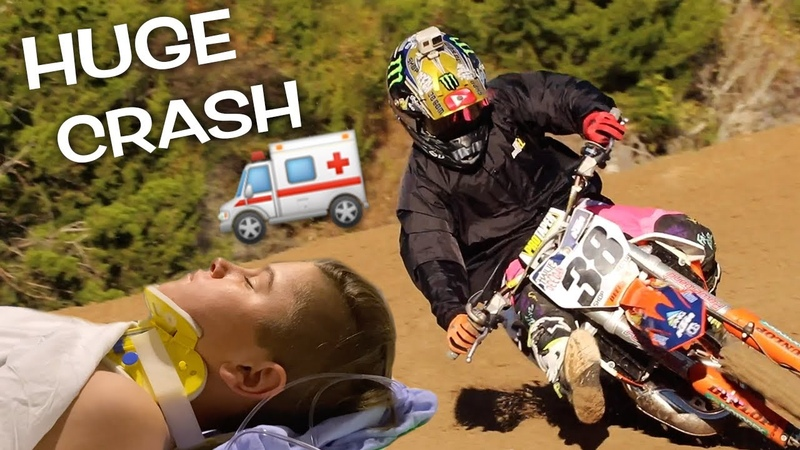 ENDED RACE IN HOSPITAL DANGERBOY CRASHES AT MINI O'S