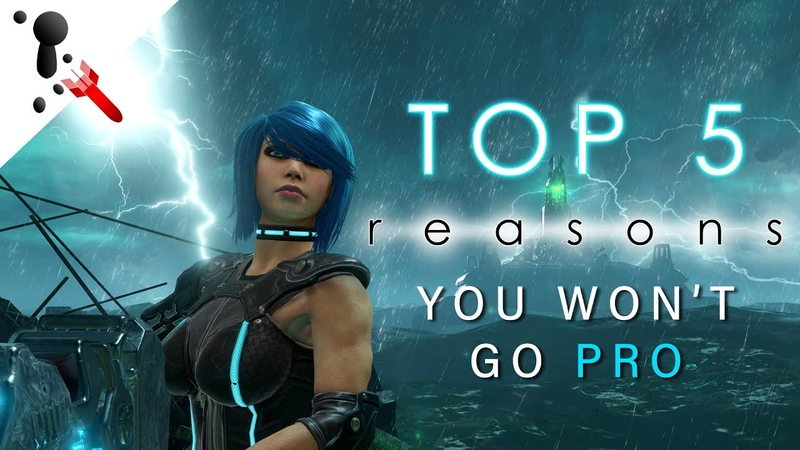 TOP 5 reasons YOU WON'T GO PRO (Number 3 will shock you!)