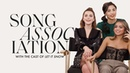 Kiernan Shipka Isabel Merced and Anna Akana Let It Snow in a Game of Song Association ELLE