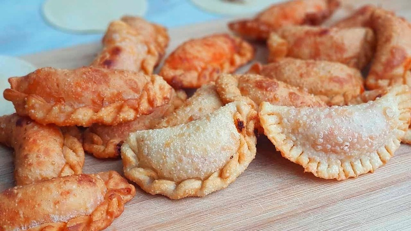Empanadillas de atun con masa de empanadillas casera. Receta facil y muy rica. La cocina de Masito