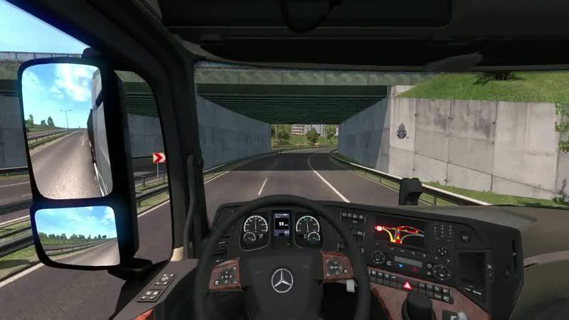 ETS 2 1.36 Road to the Black Sea Multiplayer - третья поездка