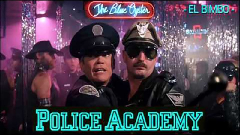 Police Academy - 'Blue Oyster' Bar Music (Jean-Marc Dompierre El Bimbo )