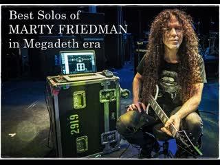 Best solos of marty friedman in megadeth era