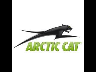 Тест оригинальных склиз снегохода arctic cat