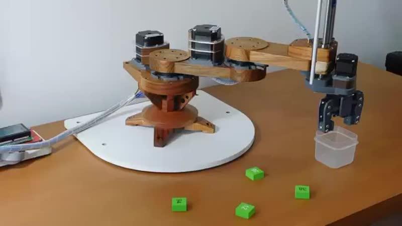 Virk I mini desktop scara robotSource Automatic Artisan @youtube Tags robot