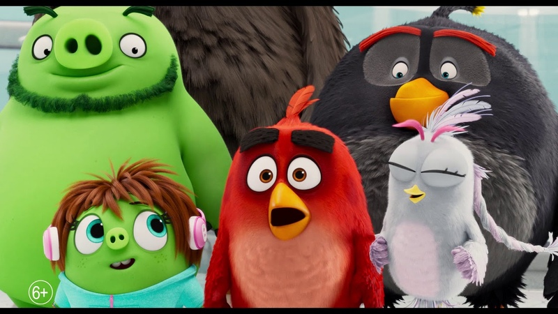 Angry Birds 2 в кино The Angry Birds Movie 2 2019 трейлр
