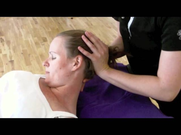 Muscle Energy Technique(MET) to posterior neck muscles.