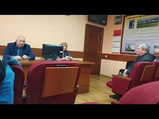 Видео Отчёт часть 2 16 марта прошла встреча с инициативной группой граждан