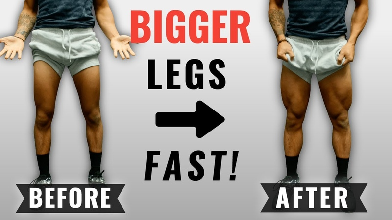 How To Get Bigger Legs FAST (3 Science-Based Tips For Bigger Quads)